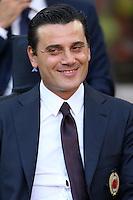 Milano - 21.08.16 - Serie A 1a giornata  -  MILAN-TORINO   - nella foto: Vincenzo Montella allenatore del Milan