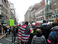 Presidential Inauguration protest-Washington DC-january 20th 2017