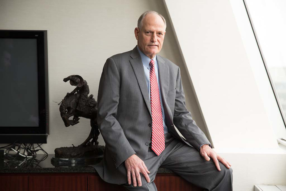 Barry Carpenter, CEO of North American Meat Institute poses for a portrait in Washington on March 16 2015.