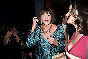 MERCEDES RUEHL;  The Old Vic at the Vaudeville Theatre ' The Prisoner of Second Avenue'  press night. After-party at Jewel. 13 July 2010. -DO NOT ARCHIVE-© Copyright Photograph by Dafydd Jones. 248 Clapham Rd. London SW9 0PZ. Tel 0207 820 0771. www.dafjones.com.