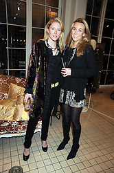 Left to right, KATHERINE LOWSON and KATHERINE MUNSEY at a party to celebrate the 2nd issue of Distill Magazine held at The Shop at Bluebrid, Kings Road, London on 1st December 2008.