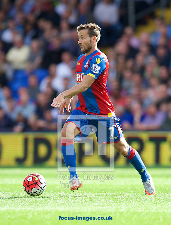 Yohan Cabaye of Crystal Palace during the Barclays Premier League match at Selhurst Park, London<br /> Picture by Alan Stanford/Focus Images Ltd +44 7915 056117<br /> 12/09/2015