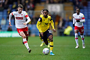 Tariqe Fosu of Oxford United in action during the EFL Sky Bet League 1 match between Oxford United and Rotherham United at the Kassam Stadium, Oxford, England on 11 January 2020.
