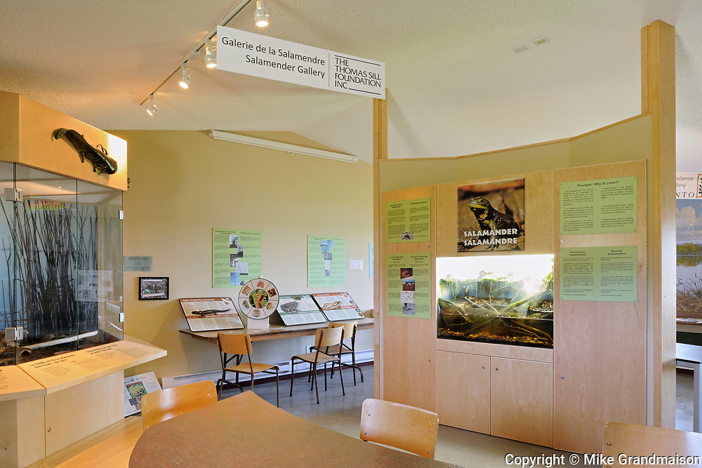 Saint Léon Interpretive Center, St. Leon, Manitoba, Canada