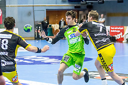 10.12.2017, BSFZ Suedstadt, Maria Enzersdorf, AUT, HLA, SG INSIGNIS Handball WESTWIEN vs Bregenz Handball, Hauptrunde, 16. Runde, im Bild Philipp Seitz (SG INSIGNIS Handball WESTWIEN) // during Handball League Austria 16 th round match between SG INSIGNIS Handball WESTWIEN and Bregenz Handball at the BSFZ Suedstadt, Maria Enzersdorf, Austria on 2017/12/10, EXPA Pictures © 2017, PhotoCredit: EXPA/ Sebastian Pucher