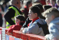 Bristol City fan - Photo mandatory by-line: Dougie Allward/JMP - Mobile: 07966 386802 - 07/03/2015 - SPORT - Football - Crawley - Broadfield Stadium - Crawley Town v Bristol City - Sky Bet League One