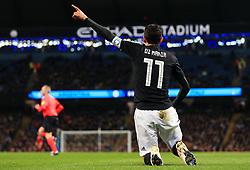 Angel di Maria of Argentina reacts - Mandatory by-line: Matt McNulty/JMP - 23/03/2018 - FOOTBALL - Etihad Stadium - Manchester, England - Argentina v Italy - International Friendly