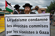 "Courageous presence of Orthodox Jews and their support for the Palestinian cause. Orthodox Jews of Neturei Karta refuse to recognize the existence of a so-called ""State of Israel""."