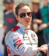 Actress Kate Del Castillo at the 2012 Toyota Celebrity/PRO Race.