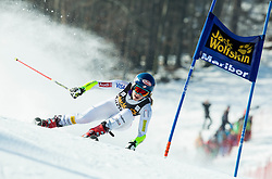 SHIFFRIN Mikaela (USA) competes during 5th Ladies' Giant slalom at 51st Golden Fox of Audi FIS Ski World Cup 2014/15, on February 21, 2015 in Pohorje, Maribor, Slovenia. Photo by Vid Ponikvar / Sportida