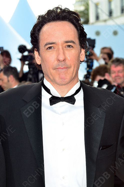 24.MAY.2012. CANNES<br /> <br /> JOHN CUSACK ATTENDS THE PREMIERE OF THE PAPERBOY AT THE PALAIS DE FESTIVAL IN CANNES DURING THE 65TH CANNES FILM FESTIVAL<br /> <br /> BYLINE: JO ALVAREZ/EDBIMAGEARCHIVE.COM<br /> <br /> *THIS IMAGE IS STRICTLY FOR UK NEWSPAPERS AND MAGAZINES ONLY*<br /> *FOR WORLD WIDE SALES AND WEB USE PLEASE CONTACT EDBIMAGEARCHIVE - 0208 954 5968*