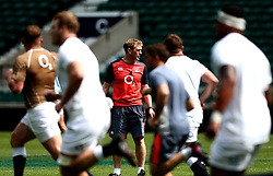 England Skills Coach Sam Vesty takes part in training at Twickenham ahead of the upcoming tour of Argentina - Mandatory by-line: Robbie Stephenson/JMP - 02/06/2017 - RUGBY - Twickenham - London, England - England Rugby Training