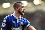 Ipswich Town's captain Luke Chambers during the Sky Bet Championship match between Bristol City and Ipswich Town at Ashton Gate, Bristol, England on 13 February 2016. Photo by Shane Healey.
