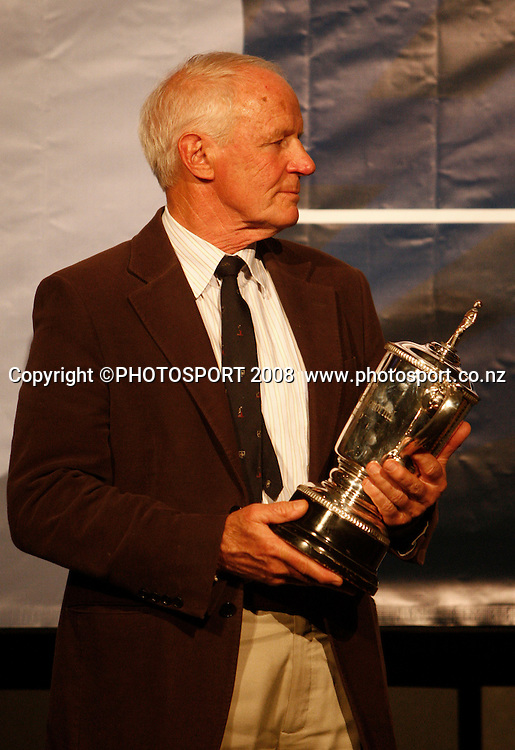 David Morris. Auckland Cricket Awards Evening. Eden Park, Auckland, New Zealand. Wednesday 15 April 2009. Photo: Simon Watts/PHOTOSPORT