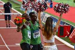July 20, 2018 - Monaco - 800 metres hommes - Nijel Amos (Botswana) - Harun Abda  (Credit Image: © Panoramic via ZUMA Press)