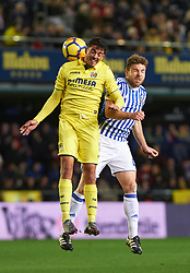 January 27, 2018 - Vila-Real, Castellon, Spain - Pablo Fornals of Villarreal CF and Asier Illarramendi of Real Sociedad during the La Liga match between Villarreal CF and Levante Union Deportiva, at Estadio de la Ceramica, on January 26, 2018 in Vila-real, Spain  (Credit Image: © Maria Jose Segovia/NurPhoto via ZUMA Press)
