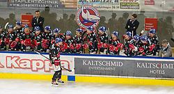 20.03.2018, Tiroler Wasserkraft Arena, Innsbruck, AUT, EBEL, HC TWK Innsbruck  die Haie vs Vienna Capitals, Playoff Viertelfinale, 6. Spiel, im Bild Torjubel nach dem 2:2 durch Hunter Bishop (HC TWK Innsbruck  die Haie) // during the Erste Bank Erste Bank Icehockey 6th round quarterfinal playoff match between HC TWK Innsbruck  die Haie and Vienna Capitals at the Tiroler Wasserkraft Arena in Innsbruck, Austria on 2018/03/20. EXPA Pictures © 2018, PhotoCredit: EXPA/ Jakob Gruber