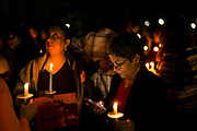 STARKVILLE, MS – FEBRUARY 1, 2017: Maria Arunkumar (right), 59, attends a vigil honoring international students at Mississippi State University. CREDIT: Bob Miller for The New York Times
