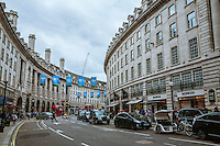 Regent Street, Piccadilly Circus Junction - London, England, 2016