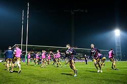 Bristol Rugby warm up - Rogan Thomson/JMP - 16/12/2016 - RUGBY UNION - Stade du Hameau - Pau, France - Pau v Bristol Rugby - EPCR Challenge Cup.