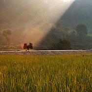 Vietnam Images-landscape-Cao Bang- Autumn. phong cảnh việt nam -hoàng thế nhiệm