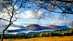 Looking towards Loch Tulla on a misty autumn morning, Highlands of Scotland<br /> <br /> (c) Andrew Wilson | Edinburgh Elite media
