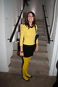 CLARA DEL PORTILLO, Wallpaper* Design Awards. Wilkinson Gallery, 50-58 Vyner Street, London E2, 14 January 2010 *** Local Caption *** -DO NOT ARCHIVE-© Copyright Photograph by Dafydd Jones. 248 Clapham Rd. London SW9 0PZ. Tel 0207 820 0771. www.dafjones.com.<br /> CLARA DEL PORTILLO, Wallpaper* Design Awards. Wilkinson Gallery, 50-58 Vyner Street, London E2, 14 January 2010