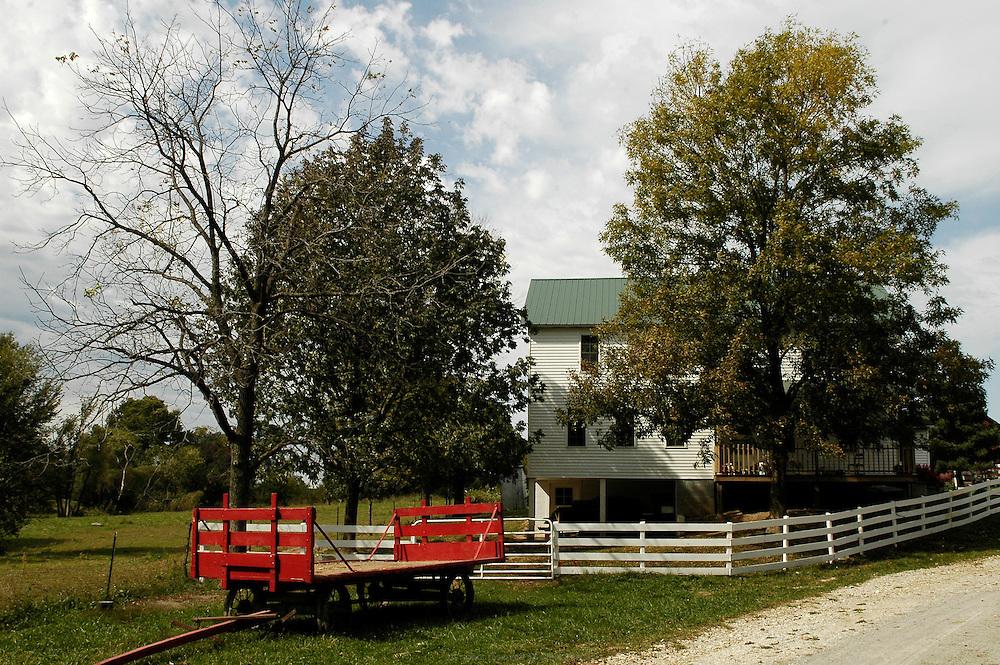 DANJO FARMS, les Nelson collaborent avec plusieurs fermes Amish voisines de leur propre exploitation familiale.