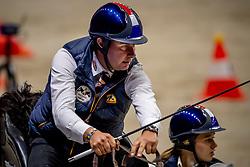 De Ronde Koos, NED, Favory Allegra Futar, Favory Felho, Siglavy Capriola Szilay, Tjibbe<br /> JIM Maastricht 2019<br /> FEI Driving World Cup™ 2019/20 <br /> © Hippo Foto - Dirk Caremans<br />  08/11/2019