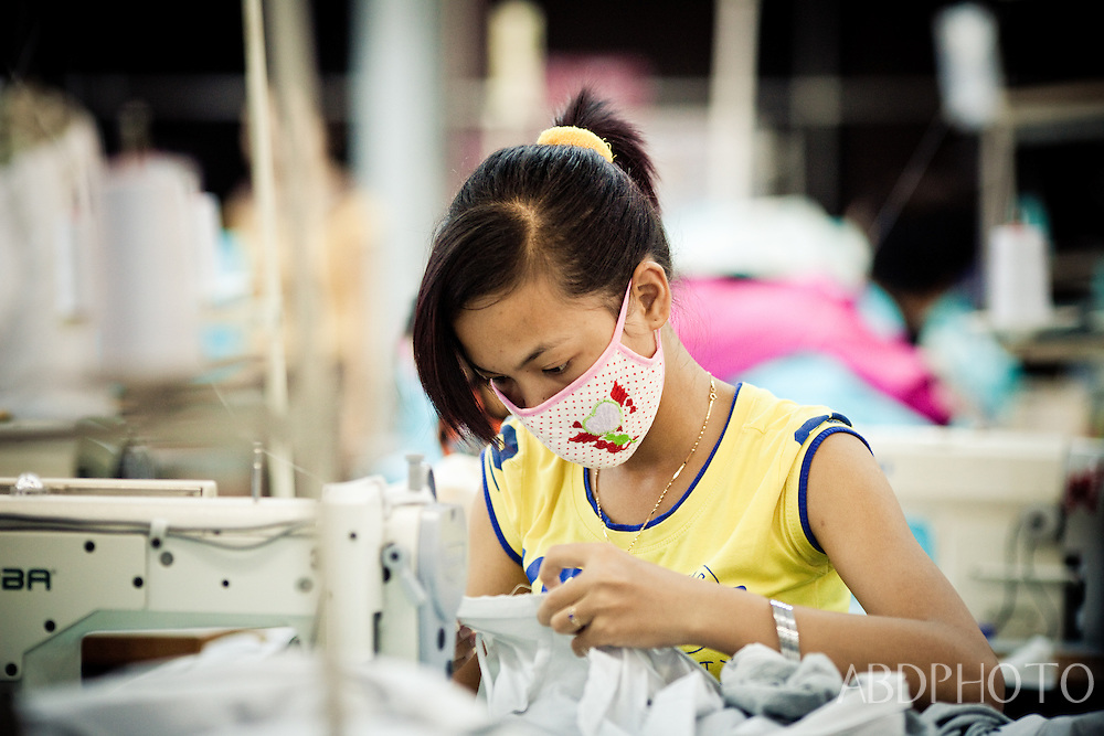 clothes factory girls cam rang vietnam