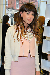 Singer FOXES at the Prism Boutique Summer Party held at Prism, 54 Chiltern Street, London on 14th May 2014.
