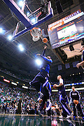 The Dallas Mavericks warm up prior to an NBA basketball game against the Utah Jazz at Energy Solutions Arena in Salt Lake City, Friday Dec. 3, 2010. (AP Photo/Colin E Braley)
