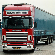 Vrachtwagen Teun en Dries Baas Internationaal transport Huizen