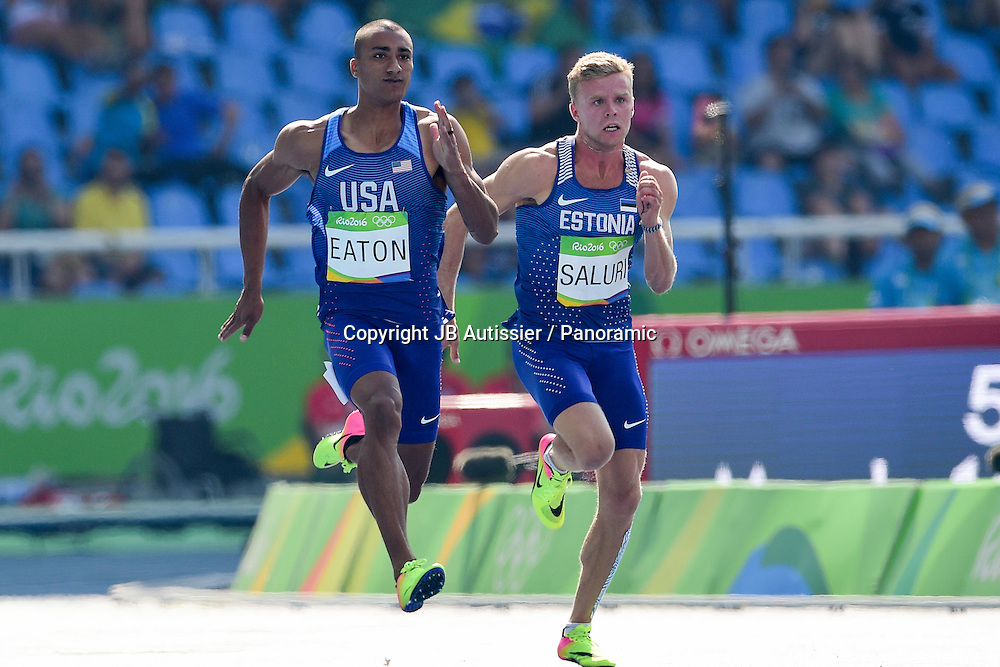 EATON Ashton (usa) - Decathlon - 100m
