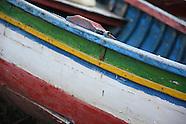 Boats on Lago Titicaca - La Paz, Bolivia