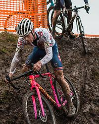 MCGUIRE Rory (GBR) during Men Junior race, 2020 UCI Cyclo-cross Worlds Dübendorf, Switzerland, 2 February 2020. Photo by Pim Nijland / Peloton Photos | All photos usage must carry mandatory copyright credit (Peloton Photos | Pim Nijland)