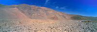 Geoglyphs of Pintados Salt flat , Atacama , Chile