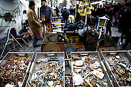 Weekend fleamarket in the Mitte district of Berlin, Germany