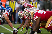 The San Francisco 49ers host the New York Giants at Levi's Stadium in Santa Clara, Calif., on November 12, 2017. (Stan Olszewski/Special to S.F. Examiner)