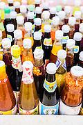 Sauces at the municipal market, Nakhon Si Thammarat