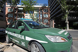 October 2, 2018 - Buenos Aires, Buenos Aires, Argentina - Justice raided De Vido's daughter's apartment. The former Planning Minister Julio De Vido, currently in prison, is accused in a corruption case during Cristina Kirchner´s Government. (Credit Image: © Claudio Santisteban/ZUMA Wire)