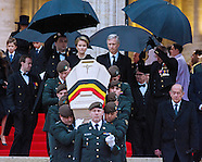 Funeral Of Queen Fabiola Of Belgium 2