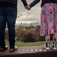 29.10.2017 <br /> Leonie and David Pre Wedding Shoot on Primrose Hill.<br /> (C) Blake Ezra Photography Ltd. 2017