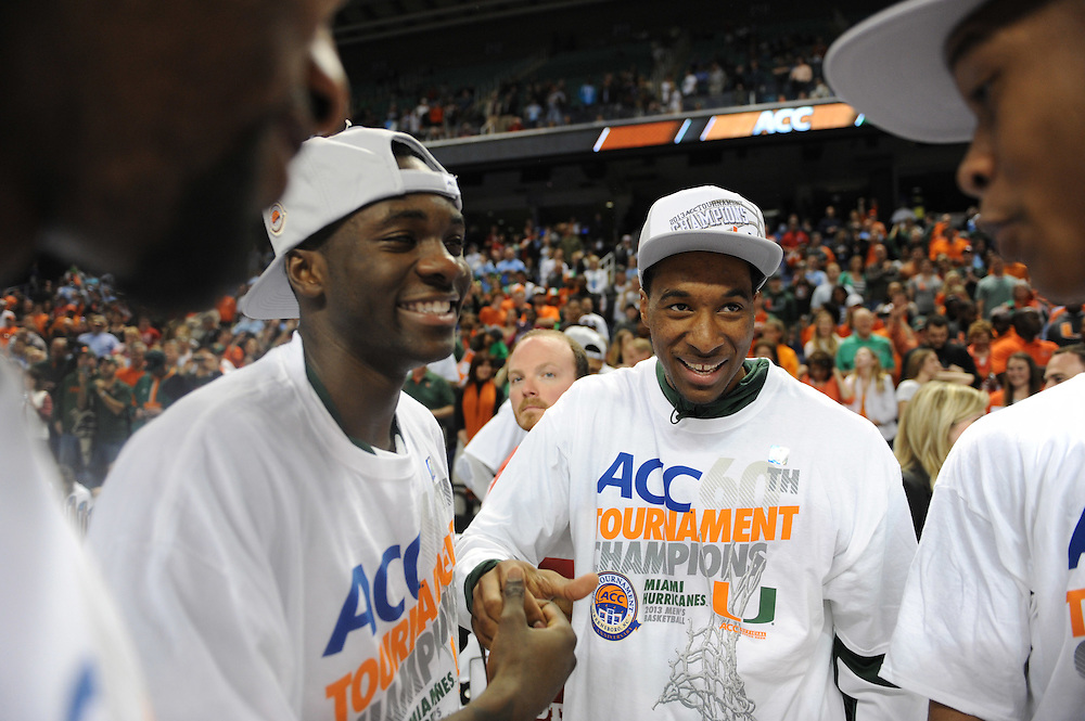 2013 Miami Hurricanes Men's Basketball vs North Carolina State @ ACC Tournament