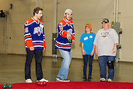 November 5, 2013: The Oklahoma City Barons meet and play with their Barons Buddies at the Cox Convention Center in Oklahoma City.
