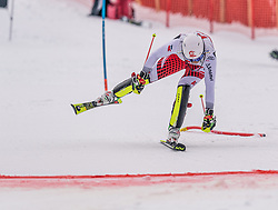 26.01.2020, Streif, Kitzbühel, AUT, FIS Weltcup Ski Alpin, Slalom, Herren, 2. Lauf, im Bild Adrian Pertl (AUT) // Adrian Pertl of Austria in action during his 2nd run in the men's Slalom of FIS Ski Alpine World Cup at the Streif in Kitzbühel, Austria on 2020/01/26. EXPA Pictures © 2020, PhotoCredit: EXPA/ Stefan Adelsberger