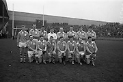 17/03/1965<br /> 03/17/1965<br /> 17 March 1965<br /> Railway Cup Football final Ulster v Connacht at Croke Park, Dublin. The Ulster team that defeated Connacht.