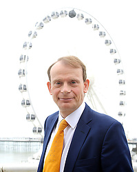TV presenter Andrew Marr at the opening day of the Labour Party conference in Brighton, Sunday, 22nd September 2013. Picture by Elliot Franks / i-Images