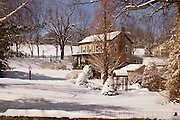 Winter landscape, snow, Cumru Township, Berks Co., PA