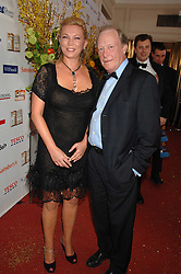 DENNIS WATERMAN and AMANDA REDMAN at the Galaxy British Book Awards 2007 - The Nibbies held at the Grosvenor house Hotel, Park Lane, London on 28th March 2007.<br />
